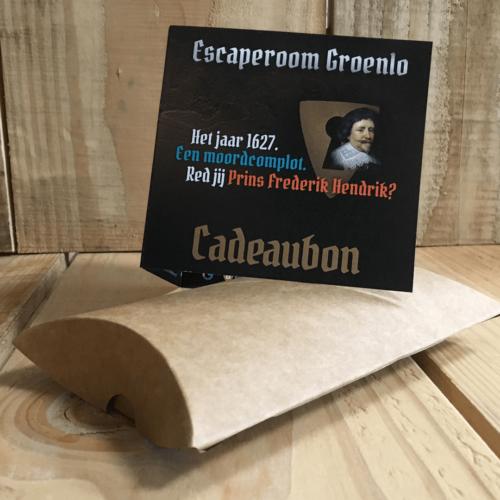 Cadeaubon van Escaperoom Groenlo