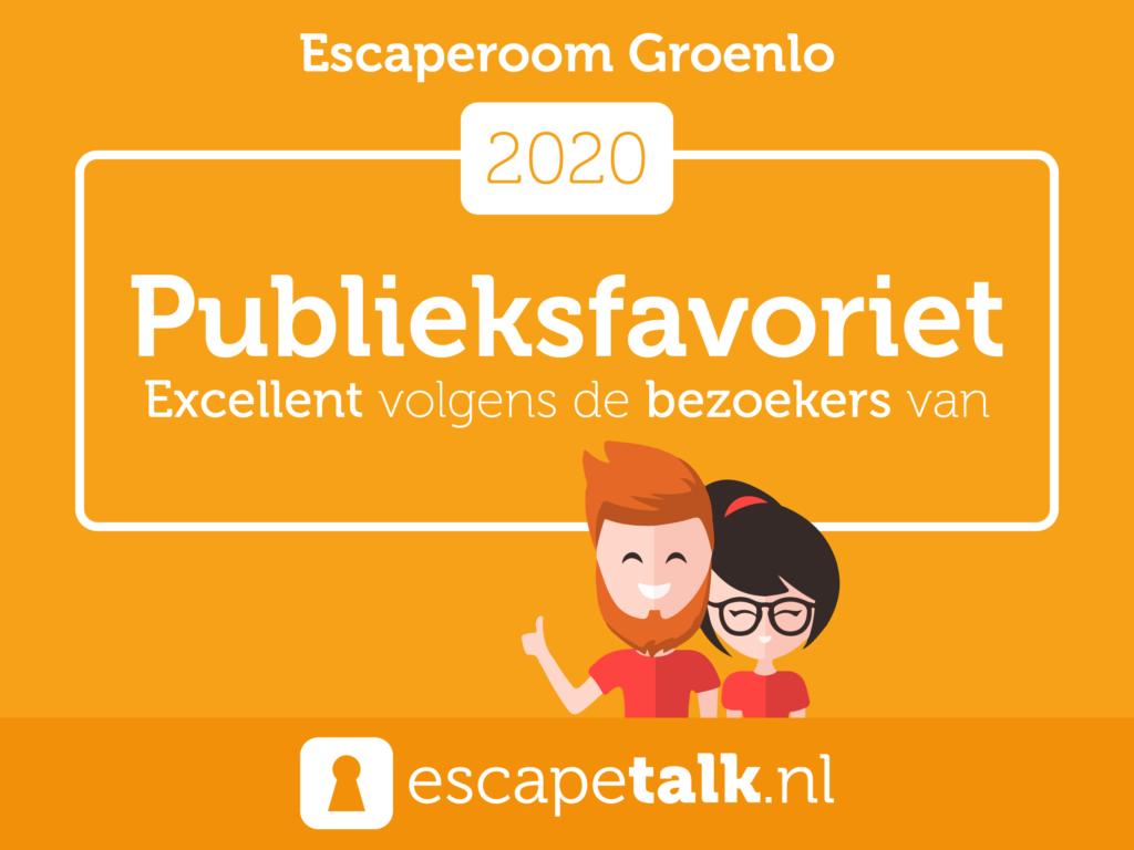 Escaperoom Groenlo Publieksfavoriet Escapetalk